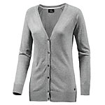 Neighborhood Strickjacke Damen hellgrau melange