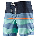 TOM TAILOR Badeshorts Herren navy/türkis/orange