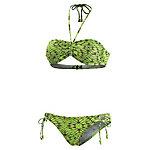 Maui Wowie Bandeau Bikini Damen grün