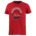 TOM TAILOR T-Shirt Herren rot