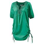 LingaDore Kurzarmbluse Damen grün