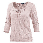 TOM TAILOR Bluse kurzarm, rose S Kurzarmbluse Damen rose
