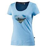 OCK T-Shirt Damen hellblau