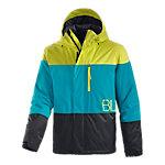 Billabong Rushmore Snowboardjacke Herren schwarz/petrol/gelb