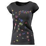 Zimtstern Superstar Printshirt Damen schwarz