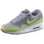 Nike Air Max 1 Sneaker Damen grau/limette