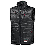 CAMP DAVID Outdoorweste Herren schwarz