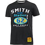 Smith and Miller Station T-Shirt Herren schwarz