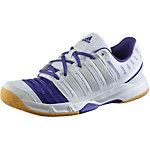 adidas Court Stabil 11 W Hallenschuhe Damen weiß/blau