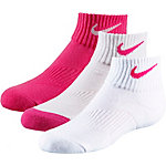 Nike Socken Pack Kinder pink/grau