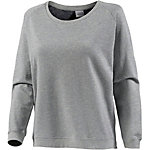 Cleptomanicx Flarry Longsweat Damen graumelange