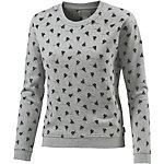 CONVERSE Sweatshirt Damen graumelange
