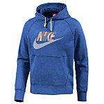 Nike AW77 FT Hoodie Herren blau