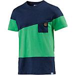 Picture Oxford T-Shirt Herren navy/grün