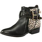 Pepe Jeans Bootie Damen schwarz/leopard