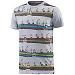 DC Sequence Stripes T-Shirt Herren grau