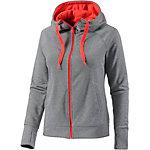 adidas PRIME HD JACKET Strickjacke Damen graumelange/neonpink