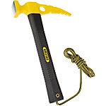 SALEWA Rockhammer Werkzeug schwarz/gelb