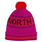 The North Face Ski Tuke IV Bommelmütze pink