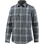 Strellson Sportswear Langarmhemd Herren grau/blau