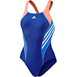 adidas Schwimmanzug Damen blau/weiß