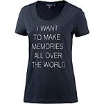 TOM TAILOR T-Shirt Damen navy