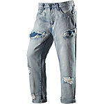 nümph Boyfriend Jeans Damen destroyed denim
