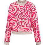 adidas Sweatshirt Damen neonpink/weiß