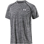 Under Armour Heatgear Tech Funktionsshirt Herren schwarz/grau