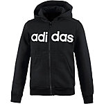 adidas Sweatjacke Jungen schwarz/weiß