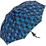 Göbel Swing liteflex Regenschirm marine/oliv/blau/hellblau
