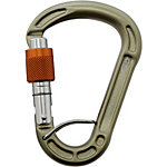 Climbing Technology Concept SGL HC Karabiner silberfarben/orange