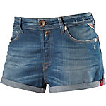 REPLAY Jeansshorts Damen blue denim