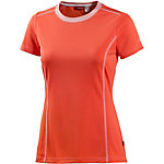 Shirt aus leichter Mesh-Qualität koralle
