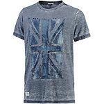 Pepe Jeans Printshirt Herren grau