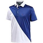 Tommy Hilfiger McCoyDiagonal Pcd Polo Poloshirt Herren weiß/blau
