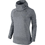 Nike Element Laufhoodie Damen grau
