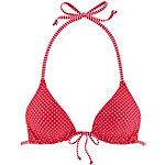 VENICE BEACH Bügelbikini Damen rot gepunktet