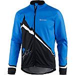 Gonso Abbey Fahrradjacke Herren blau/schwarz