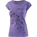 Zimtstern Superstar Printshirt Damen lila
