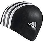 adidas 3STR Badekappe schwarz