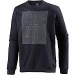 Cleptomanicx Stitch Sweatshirt Herren navy