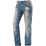 GARCIA Boyfriend Jeans Damen destroyed denim