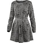 TIMEZONE Jerseykleid Damen grau/schwarz