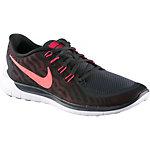 Nike Free 5.0 Laufschuhe Herren schwarz/rot