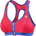 Shock Absorber Active Front Zip Sport-BH Damen pink/lila