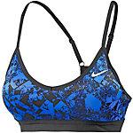 Nike Pro Indy Jewels Sport-BH Damen blau/schwarz
