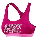 Nike Pro Classic Logo Sport-BH Damen fuchsia/pink