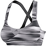 adidas Supernova Sport-BH Damen schwarz/weiß