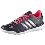 adidas Essentials Fun Fitnessschuhe Damen anthrazit/silberfarben/rot